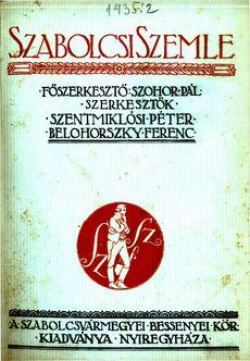 Szabolcsi Szemle 1935 2