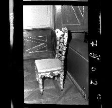 Negatív, 1874-ben készített szék, Pápa