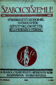 Szabolcsi Szemle 1936 1