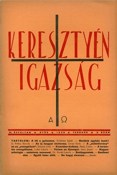 Keresztyén Igazság 1939 (február)
