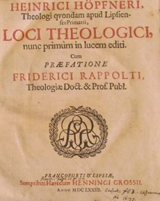 Loci Theologici