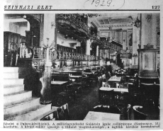 Palace Szálló, Budapest 1929.