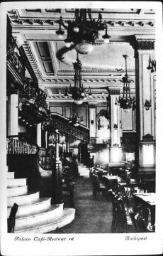 Palace Szálló, Budapest 1919.