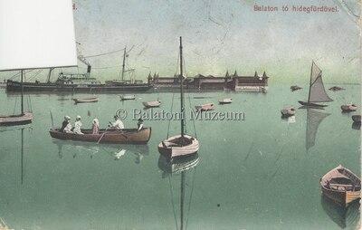 Balaton tó hidegfürdővel