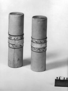 Ruszwurm Cukrászda védett tárgyai, Budapest, szalvétatokok
