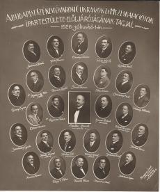Cukrászok és Mézeskalácsosok Ipartestülete, Budapest, 1926.