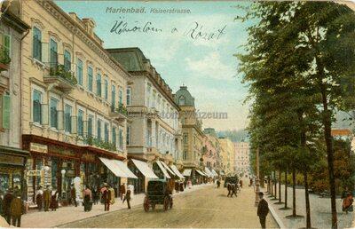 Marienbad. Kaiserstrasse