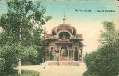 Dorna-Watra. Musikpavillon