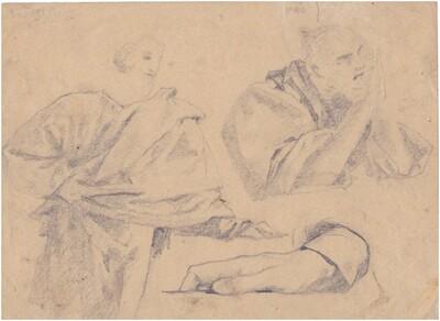 Két férfi, egy kéz