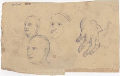 3 fej, 1 kéz