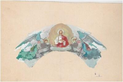 Jézus és angyalok
