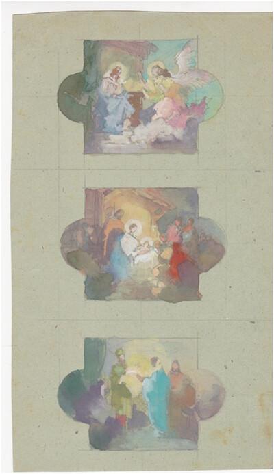 Angyali üdvözlet, Jézus születése, bemutatása