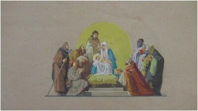 Kis Jézus születése
