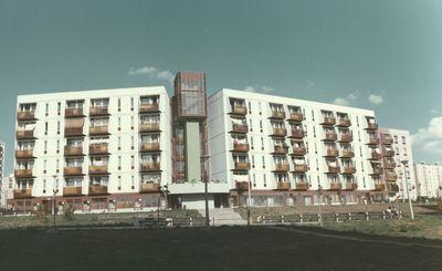 Siklósi városrészben található garzonházak
