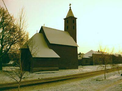 Cserkúti templom külső felvételek