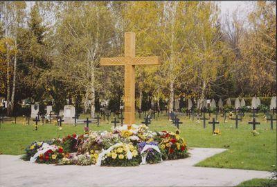 Pécsi Központi Temető II. Világháborús emlékművei