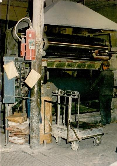 Tisza Cipőgyár keverőüzem, keverőgép