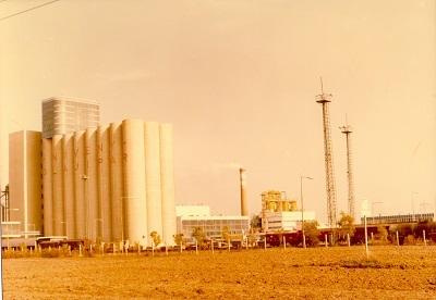 Martfűi Növényolajgyár nyugat felől