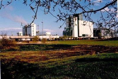 Martfűi Növényolajgyár É-NY felől
