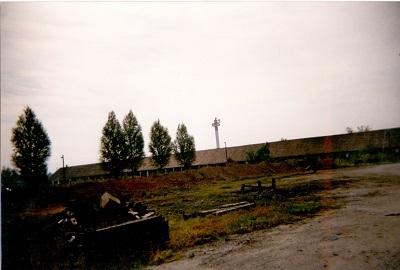 Martfűi téglagyár romjai