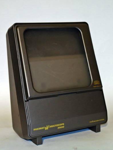 Braun Paximat Multiscope 2000 teledia készülék