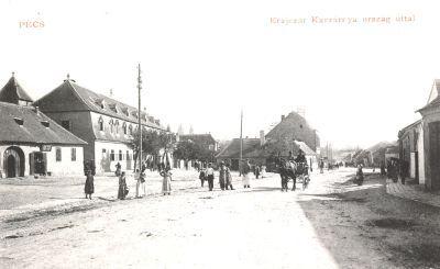 Krajczár Kaszárnya a Szigeti úton
