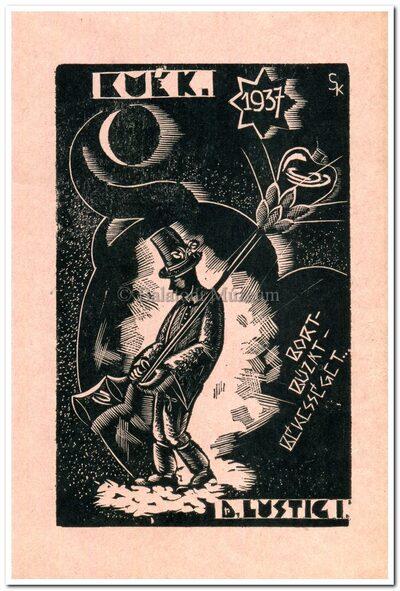 B.U.É.K. 1937 Bort, búzát, békességet...