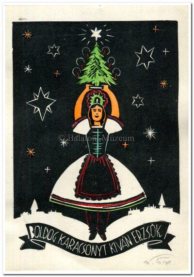 Boldog karácsonyt kíván Erzsók