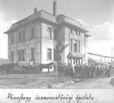 Üzemvezetőségi épület