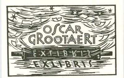 Oscar Grootaert ex libris