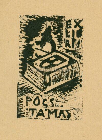 Ex libris Pócs Tamás.