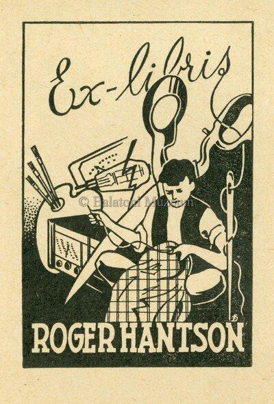 Ex libris Roger Hantson.
