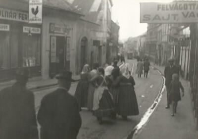 Sallai utca az 1930-as évek elején