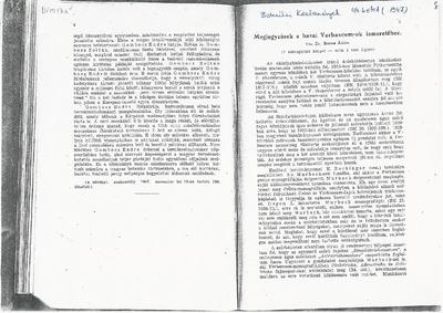 Botanikai közlemények - Megjegyzések a hazai Verbascum-ok ismeretéhez