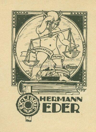 Ex libris Hermann Eder