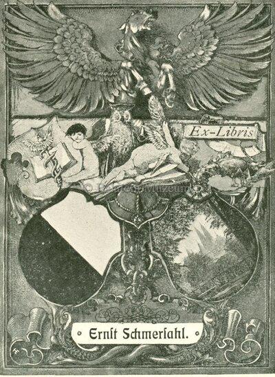 Ex Libris Ernst Schmershal