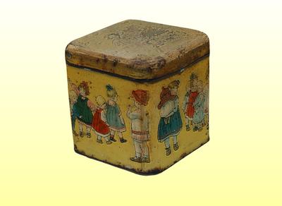 Kislányos dobozka