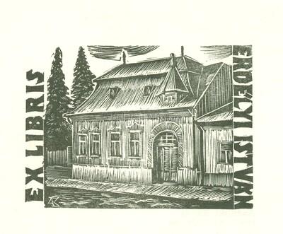 Ex libris Erdélyi István