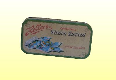 Heller's cukor doboz