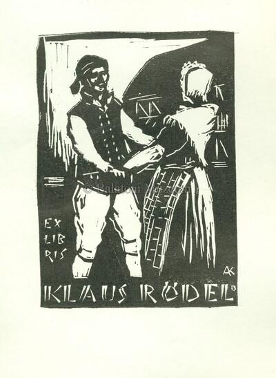 Ex libris Klaus Rödel