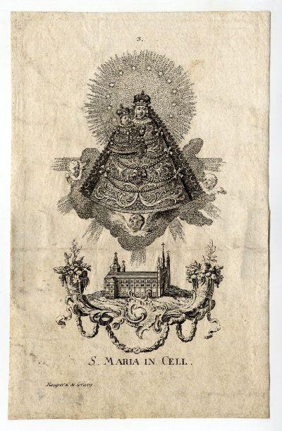 Celli Szűz Mária-kép, é.n.