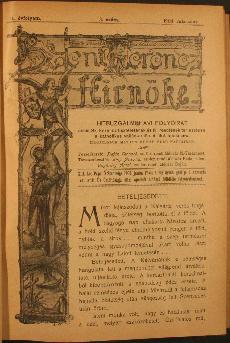 Szent Ferencz hírnöke 1904. márczius