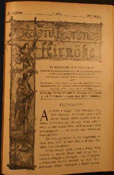 Szent Ferencz hírnöke 1904. április