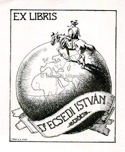 Ex libris Dr. Ecsedi István