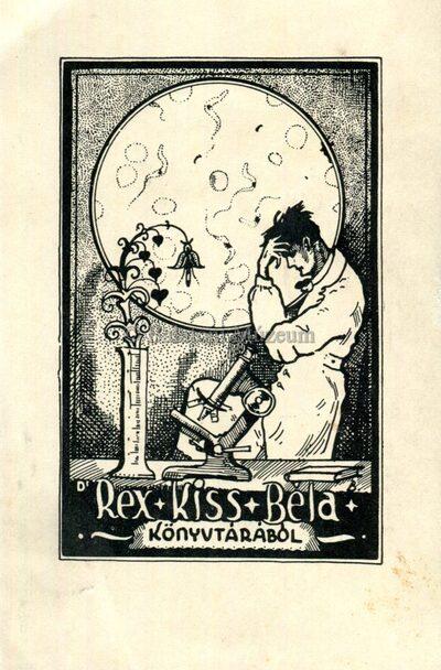 Dr. Rex Kiss Béla könyvtárából