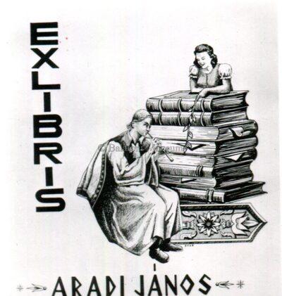 Ex libris Aradi János