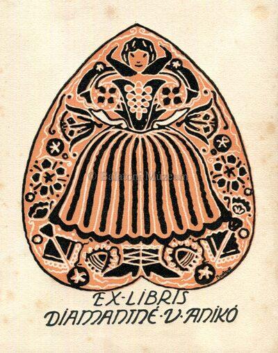 Ex libris Diamaniné V. Anikó