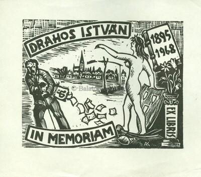 Ex libris in memoriam Drahos István 1895-1968