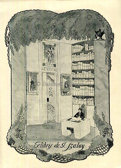 Ex libris dr. I. Szalay