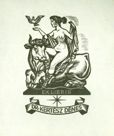 Ex libris Dr. Kertész Dénes
